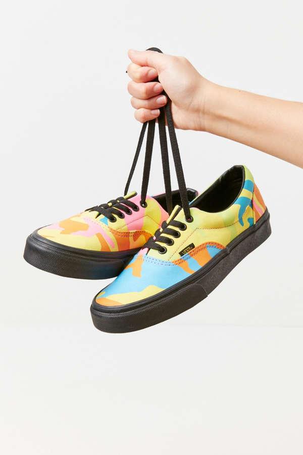 2d4d822f7175e Vans Era Neon Camo Sneaker | Urban Outfitters