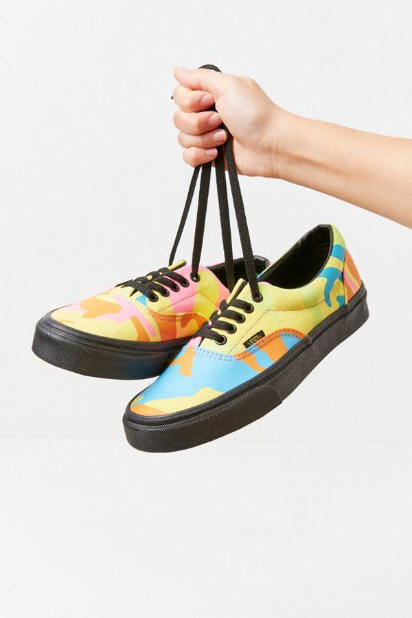 364767340850c3 Vans Era Neon Camo Sneaker