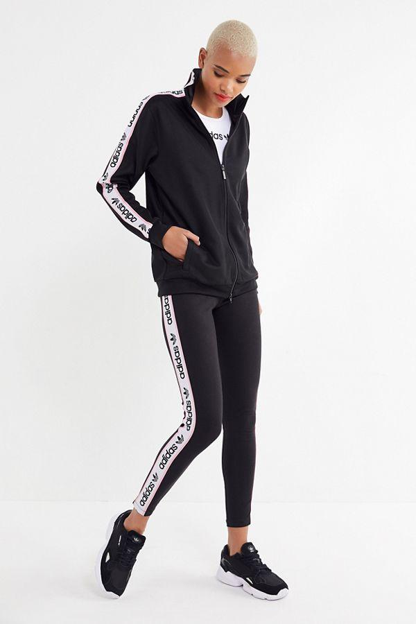 44e4c0a105ffc1 adidas Originals Side Tape Legging | Urban Outfitters
