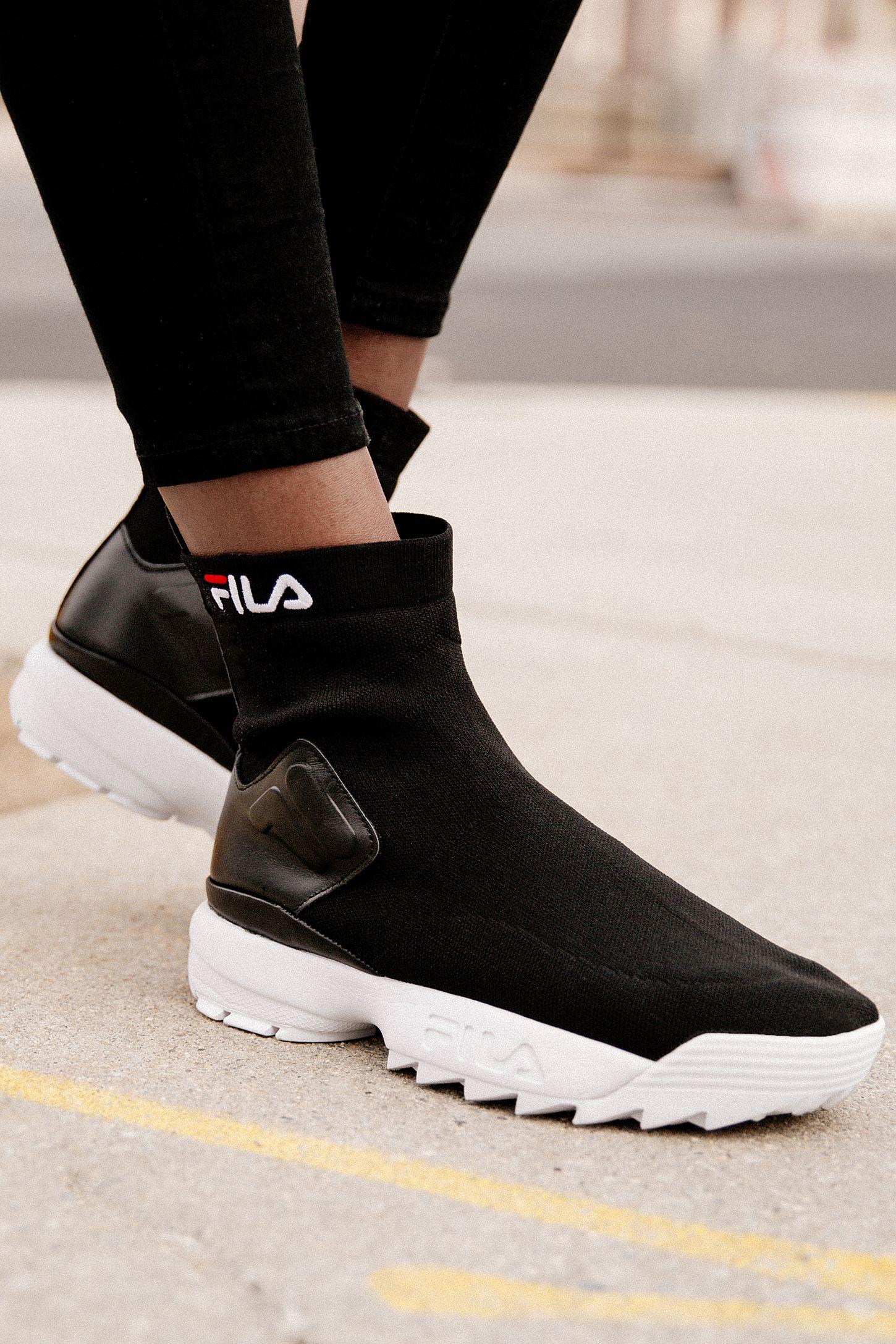 chaussure fila chaussette