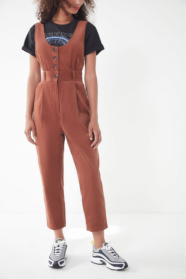 0e0def2a64c Your Urban Outfitters Gallery. UO Gretel Button-Down Corduroy Jumpsuit
