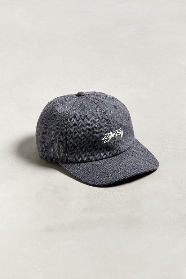 da51b84ba94cc7 Stussy Stock Herringbone Low Pro Baseball Hat | Urban Outfitters