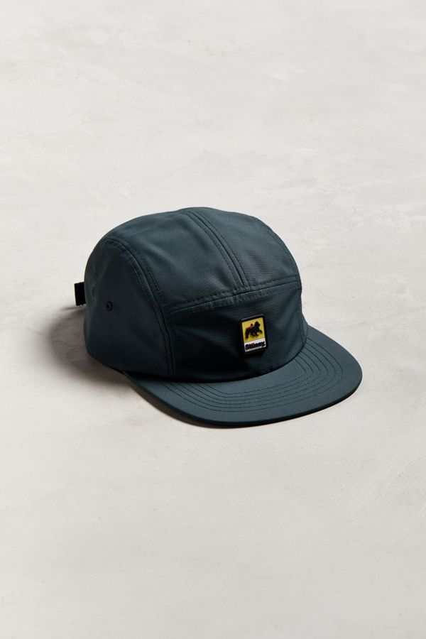03f82539963 Stussy Lion Rubber Patch Camp 5-Panel Hat