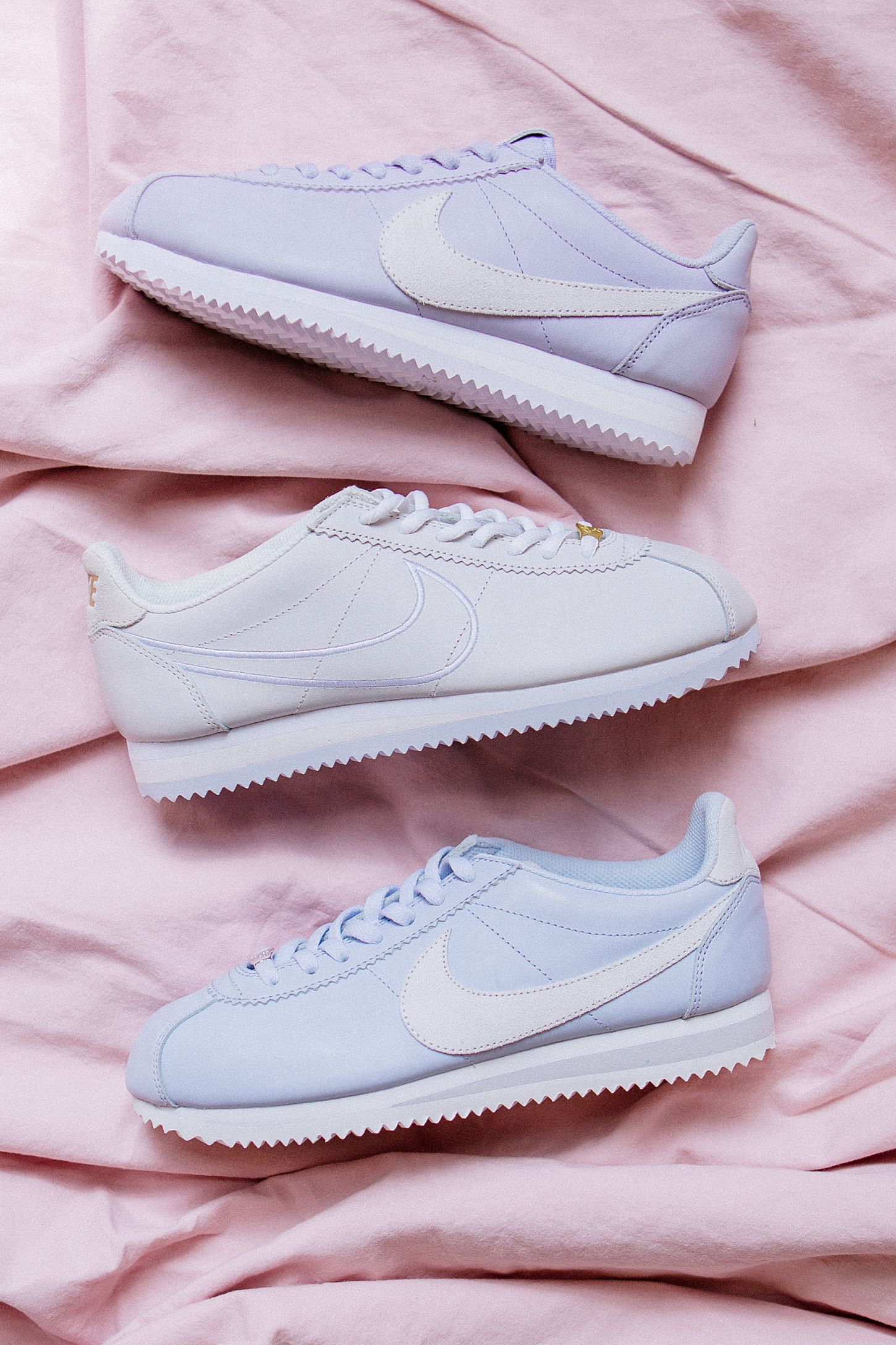 the best attitude 27d3e c54ba Nike Classic Cortez Pastel Sneaker. Tap image to zoom. Hover to zoom.  Double Tap to Zoom