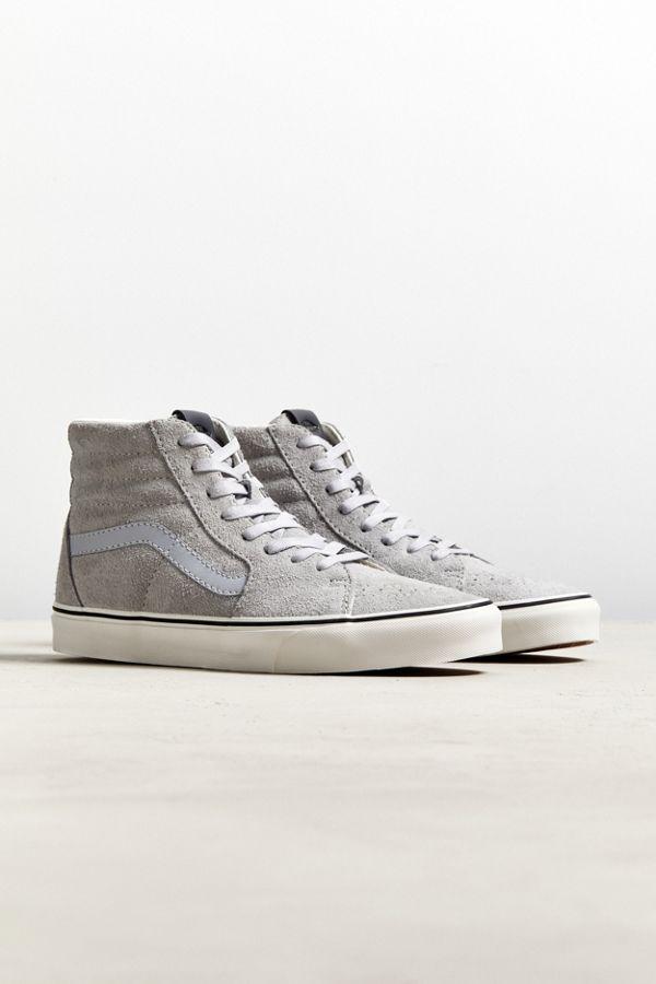 ceb050675d Vans Sk8-Hi Hairy Suede Sneaker