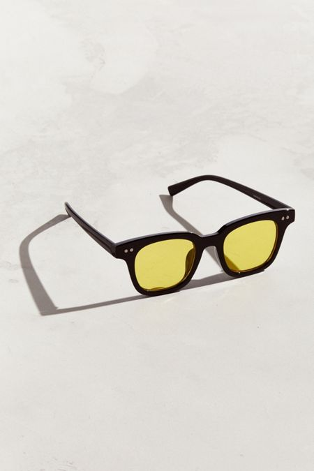 50e0dba0adb Color Lens Square Sunglasses