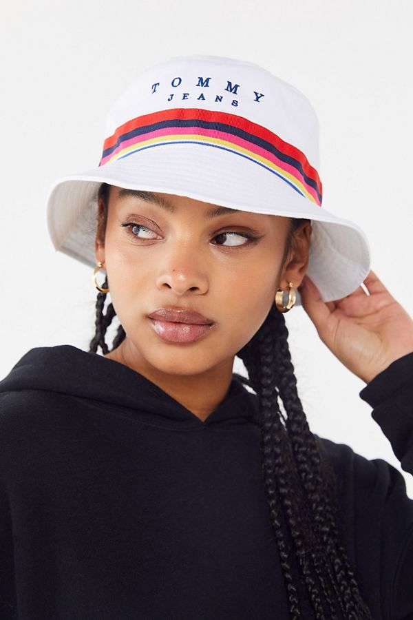 baf7be62 Tommy Jeans Rainbow Bucket Hat | Urban Outfitters
