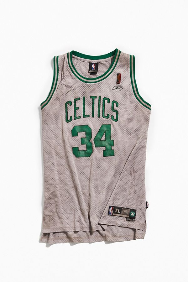 arrives 5844b fa9ad Vintage Reebok Boston Celtics Paul Pierce Basketball Jersey