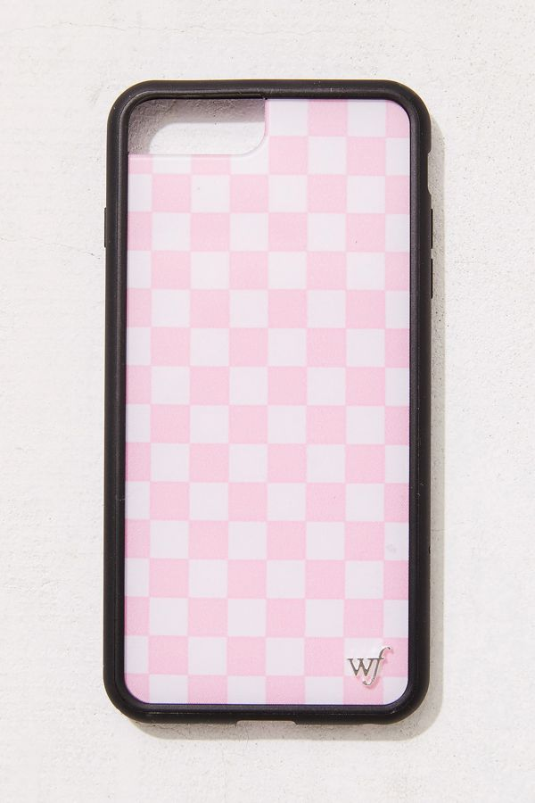 cheaper 2442a b0db2 Wildflower Pink Check Please iPhone Case