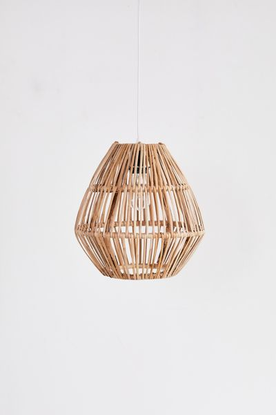 Bamboo Woven Pendant Light Urban Outfitters