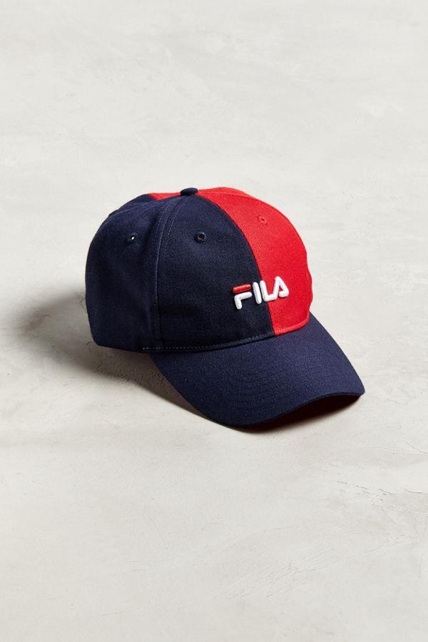 161fc74dc3e FILA Colorblock Baseball Hat