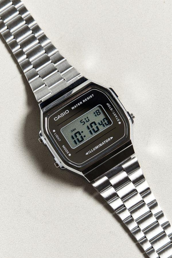 73e8c43e9b08 Casio Vintage Silver Digital Watch