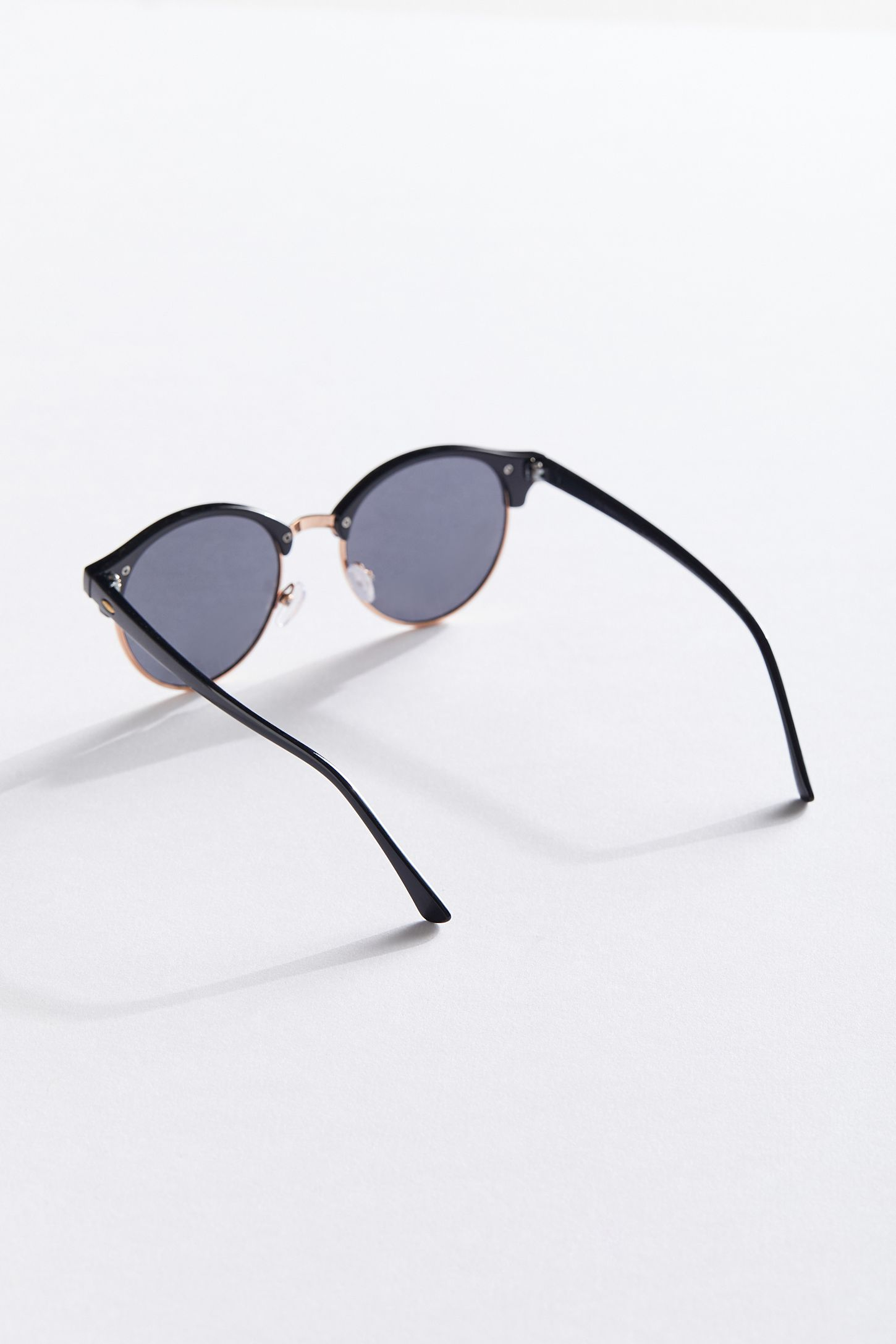a6d00078c9f1f Slide View  3  Round Half-Frame Sunglasses
