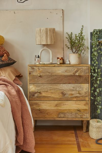 Amelia 3 Drawer Dresser Urban Outfitters