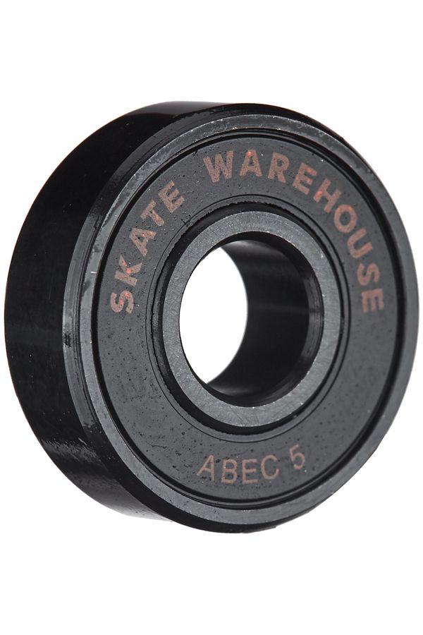 Skate Warehouse ABEC 5 Black Bearings