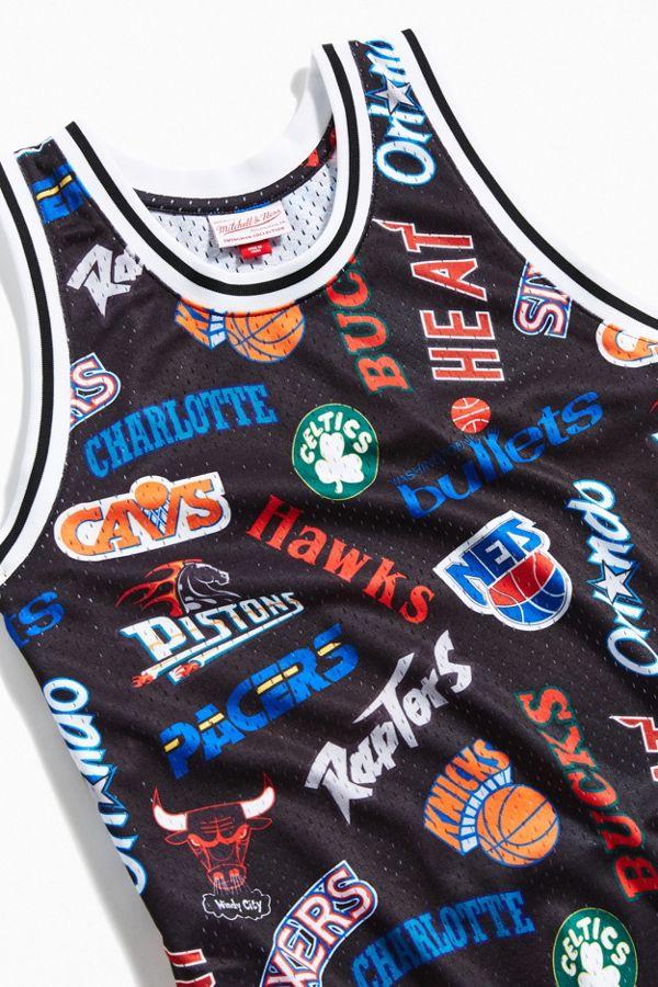 the best attitude 58934 1be84 Mitchell & Ness Allover Eastern Swingman Basketball Jersey