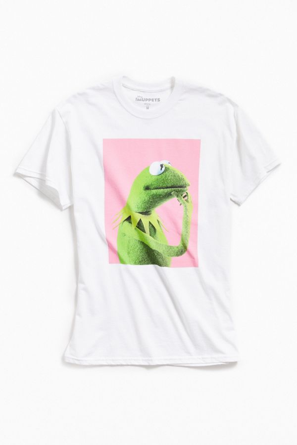 51f9f8f1 Pondering Kermit Tee   Urban Outfitters Canada