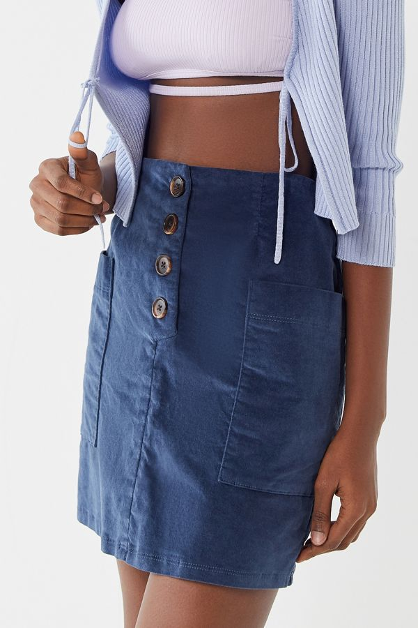 1169d3cde0 BDG Kendri Uncut Corduroy Mini Skirt   Urban Outfitters