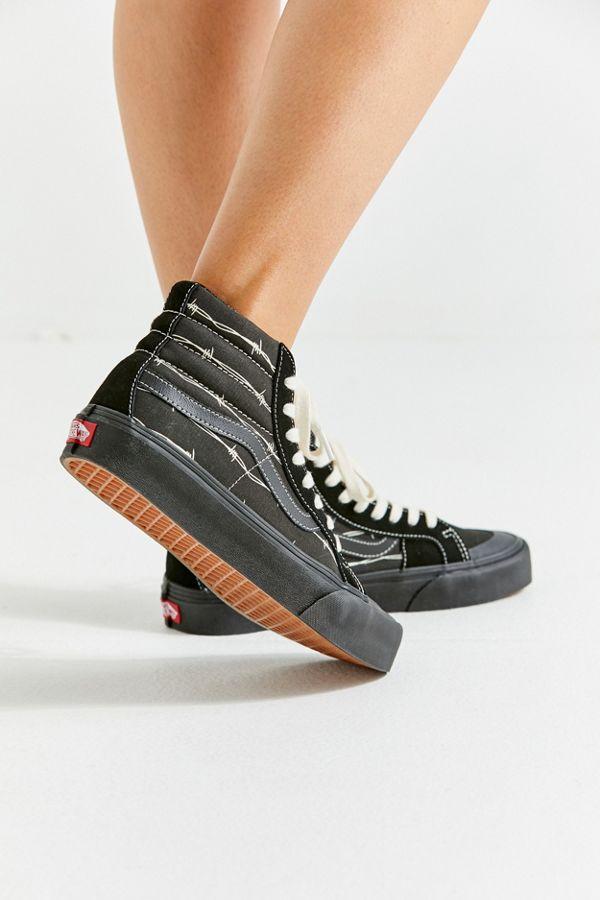 8d0c08454b Vans Sk8-Hi 138 Decon SF Barbed Wire Sneaker