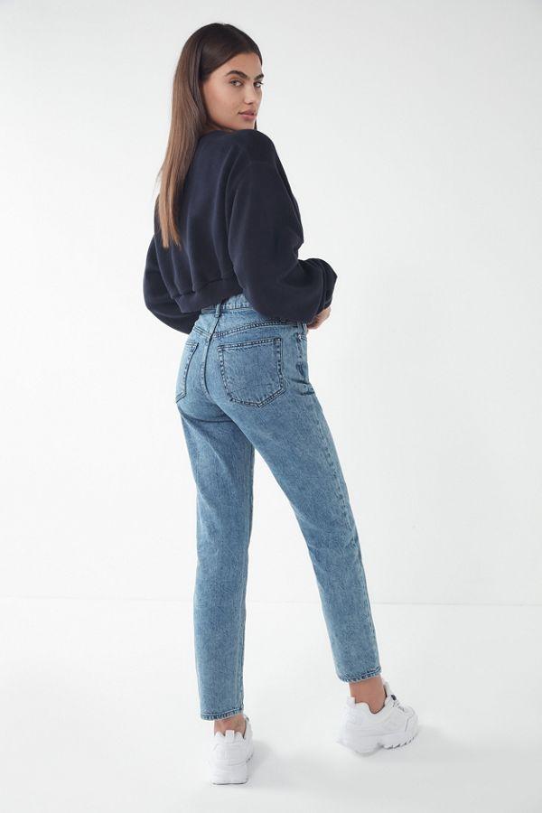 43dca9a12e4 BDG High-Rise Slim Straight Jean – Acid Wash