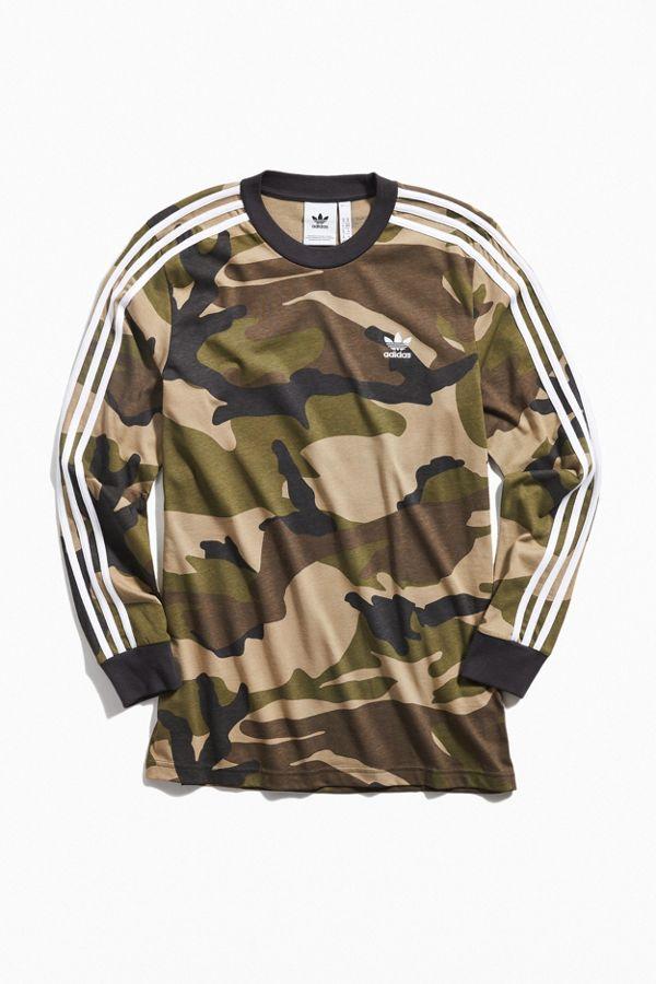 97d2da5a adidas Camo Long Sleeve Tee | Urban Outfitters