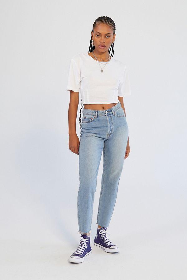 01aa126e9b6af Slide View  1  BDG High-Rise Slim Straight Jean – Light Wash