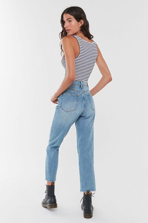 c14d46ee BDG High-Rise Slim Straight Jean – Light Wash