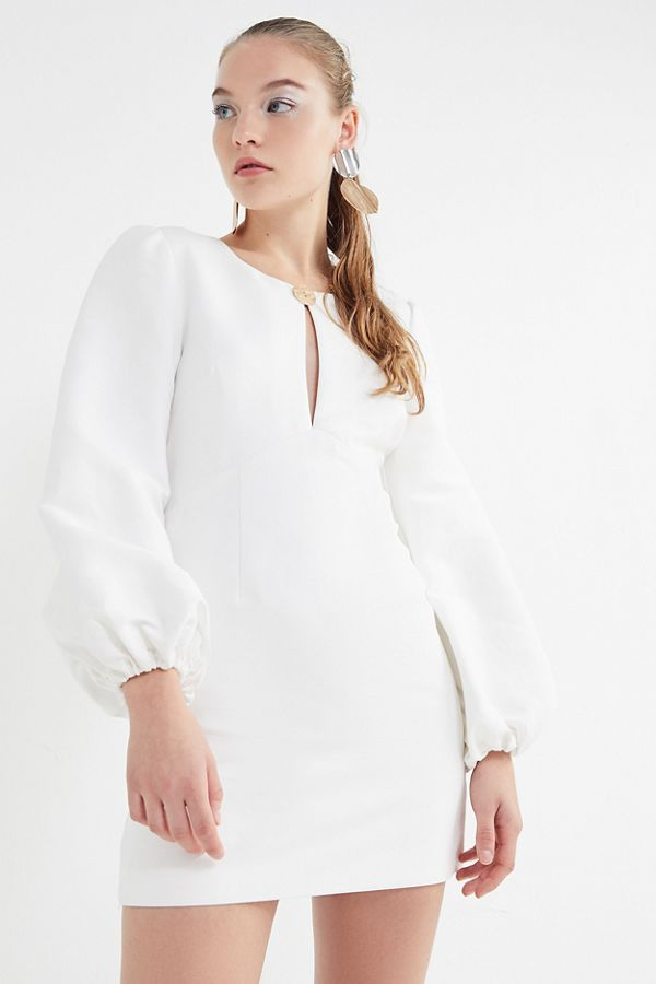 25a29d34dbe0 Finders Keepers Pompeii Puff Sleeve Mini Dress | Urban Outfitters Canada