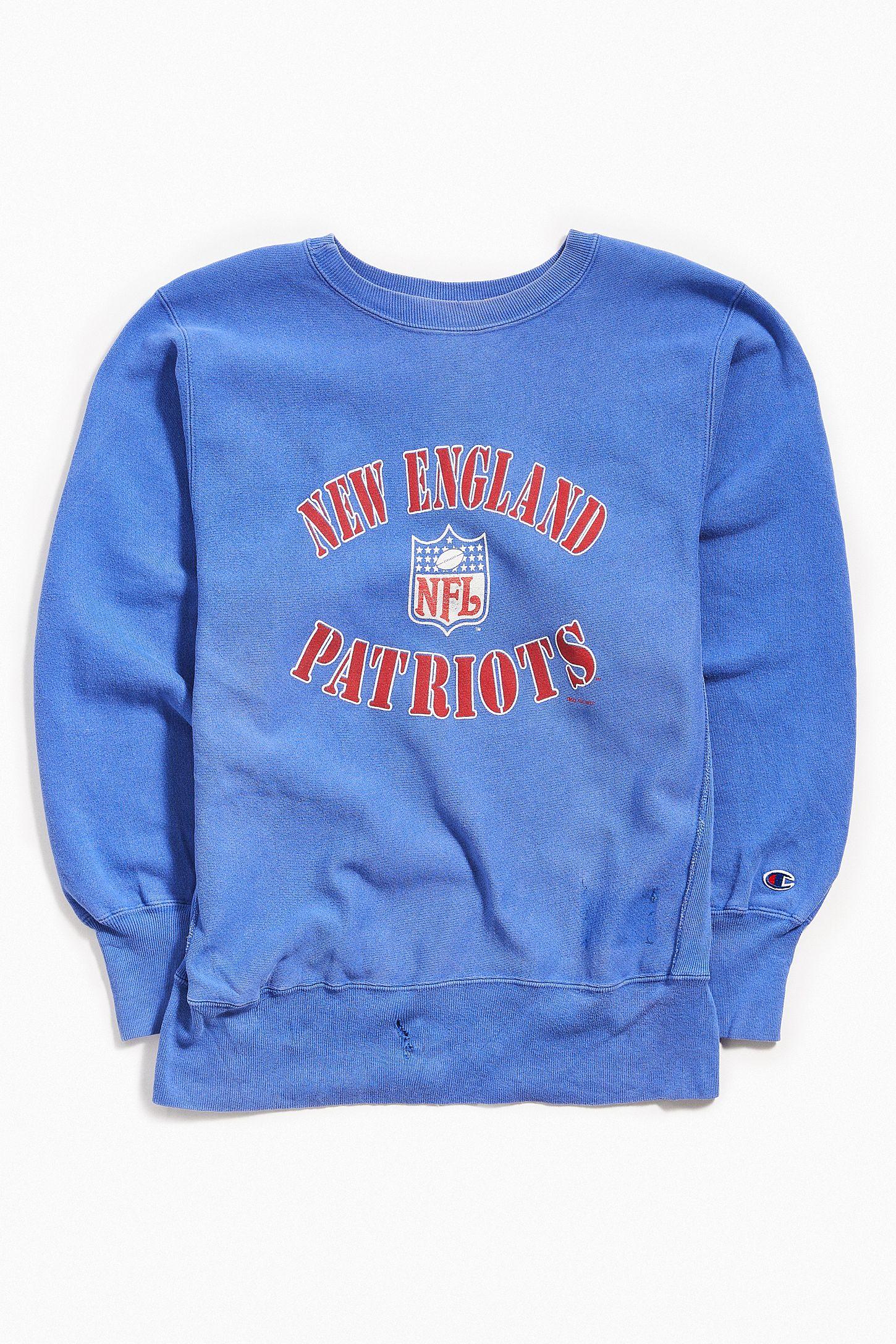 f2f7470a Vintage New England Patriots Pullover Sweatshirt