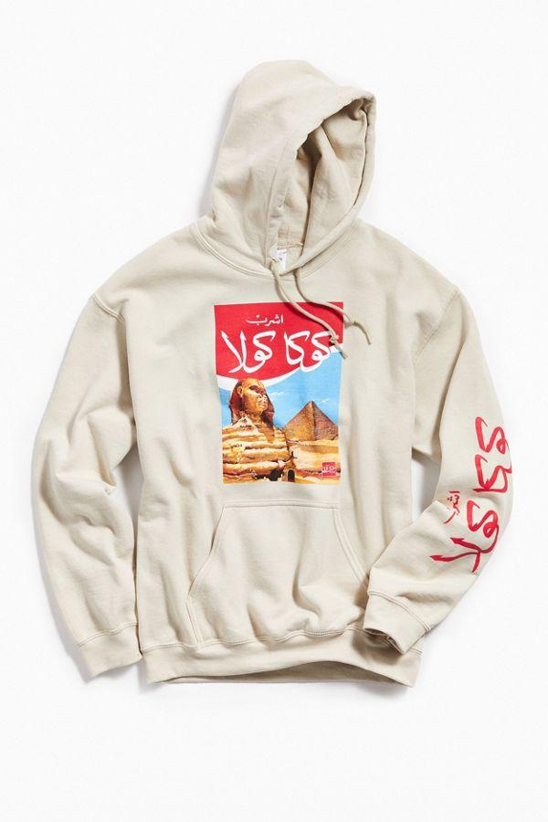 Slide View  1  Coca-Cola Egypt Hoodie Sweatshirt b72dfb6749911
