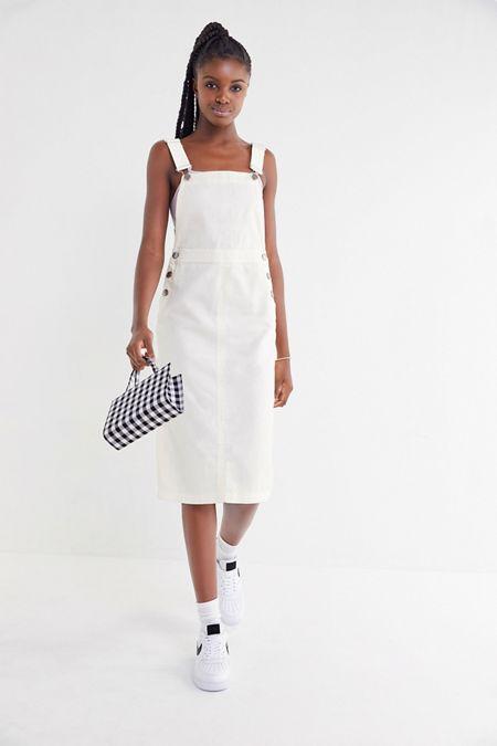 09158b5864 UO Hepburn Overall Midi Dress