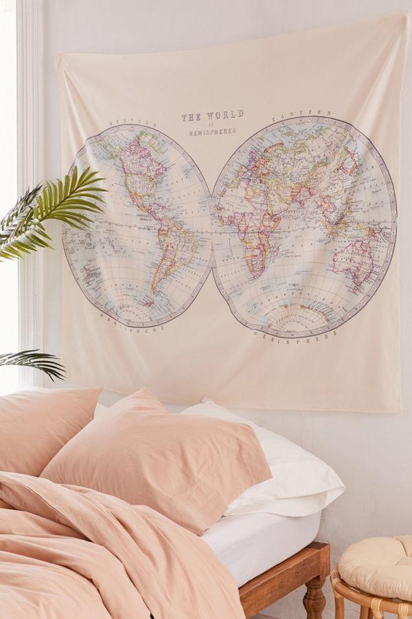 Catherine Holcombe For Deny Two Hemispheres Tapestry Urban