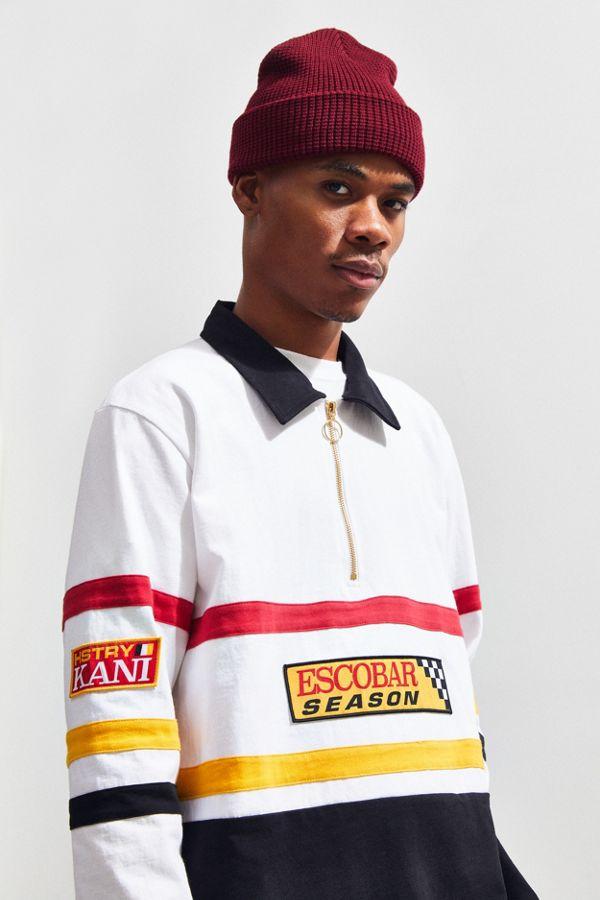 6a505eaf8 HSTRY X Karl Kani Escobar Season Half-Zip Pullover Sweatshirt