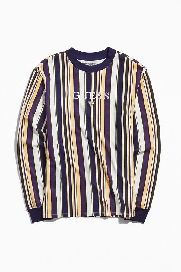 T shirt rayé Ashton GUESS