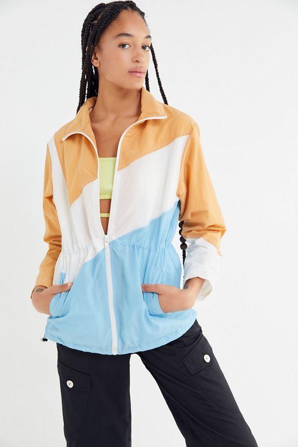 e507b6a2b UO Austen Colorblock Windbreaker Jacket | Urban Outfitters
