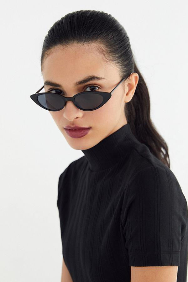 9ebb2c98a9 Slide View  1  Nova Slim Cat-Eye Sunglasses