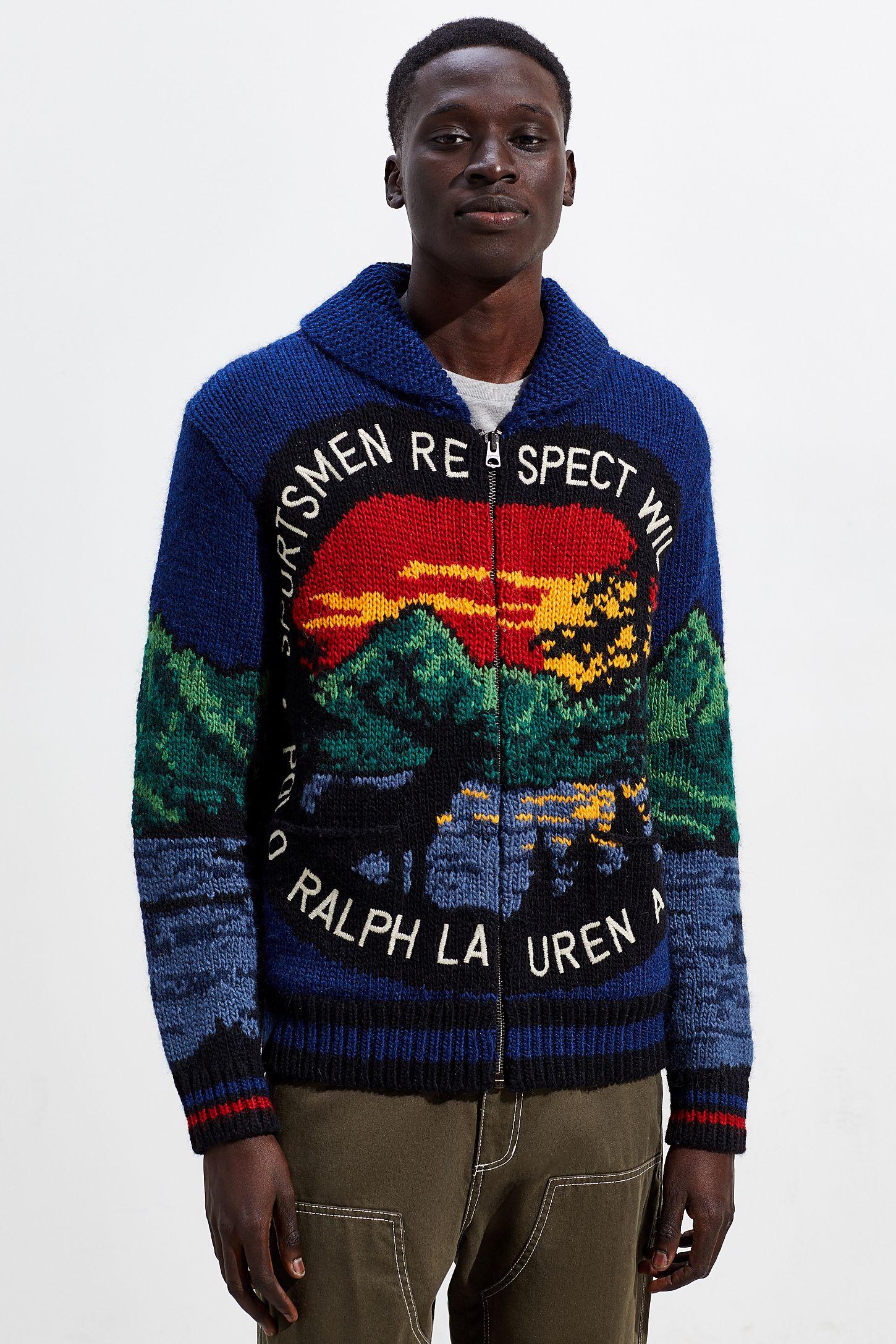 88e5f134dac Polo Ralph Lauren Sportsmen Full-Zip Cardigan