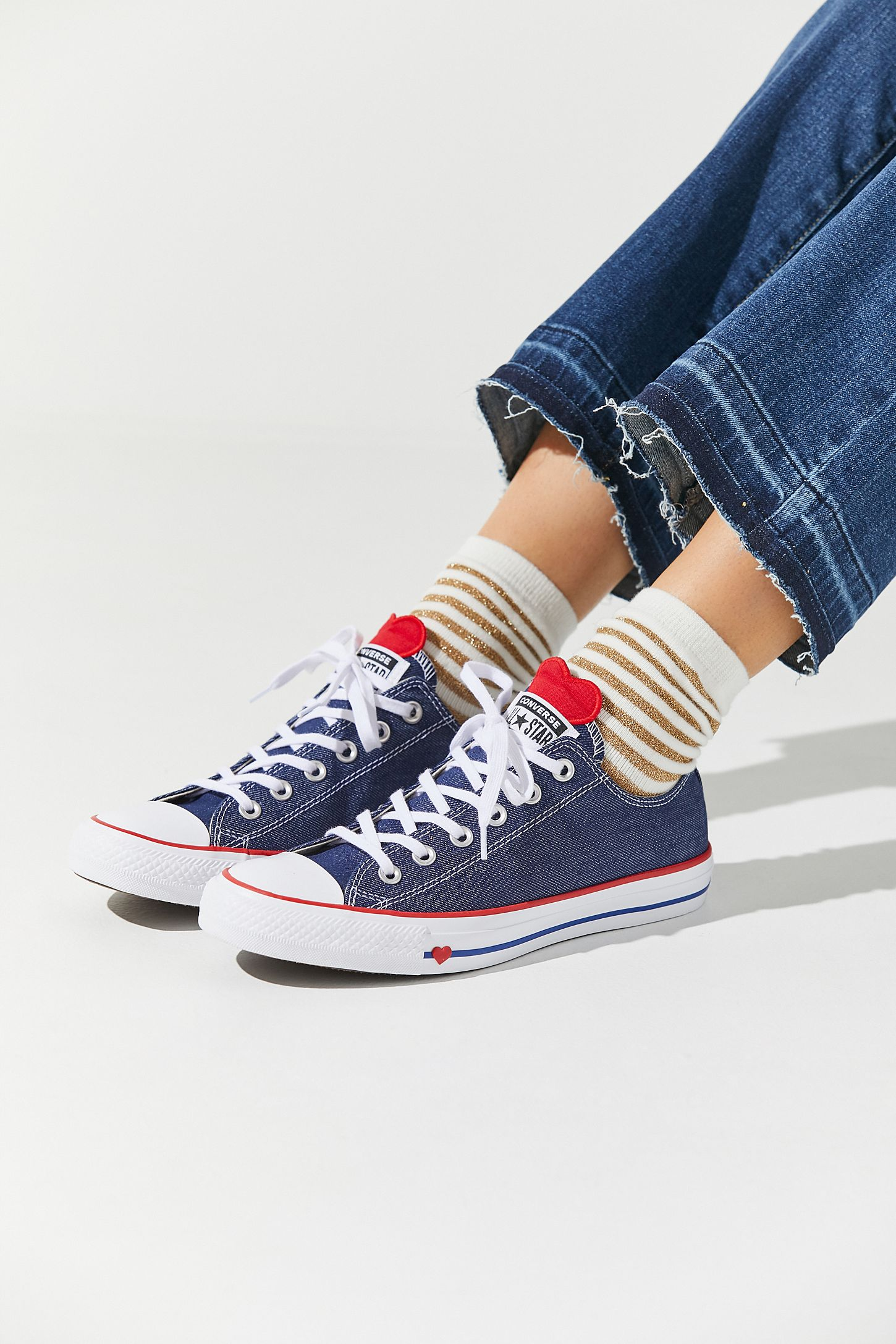 Converse Chuck Taylor All Star Denim Love Low Top Sneaker