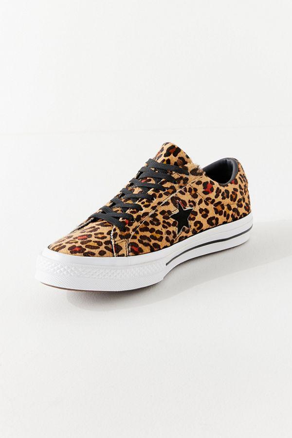 169f261c7ba3 Converse One Star Leopard Sneaker