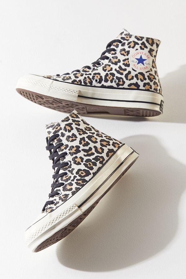 converse femme léopard