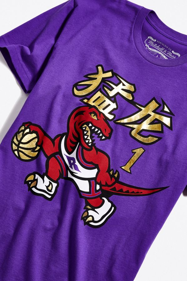 7be4de156cad Mitchell   Ness Chinese New Year Toronto Raptors Tracy McGrady Tee ...