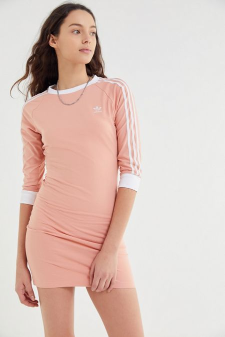 37b53e4394ee adidas 3-Stripes Bodycon Mini Dress