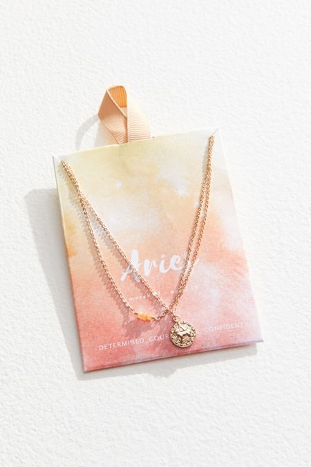 963f1c177f2e Zodiac Mini Pendant Necklace Set