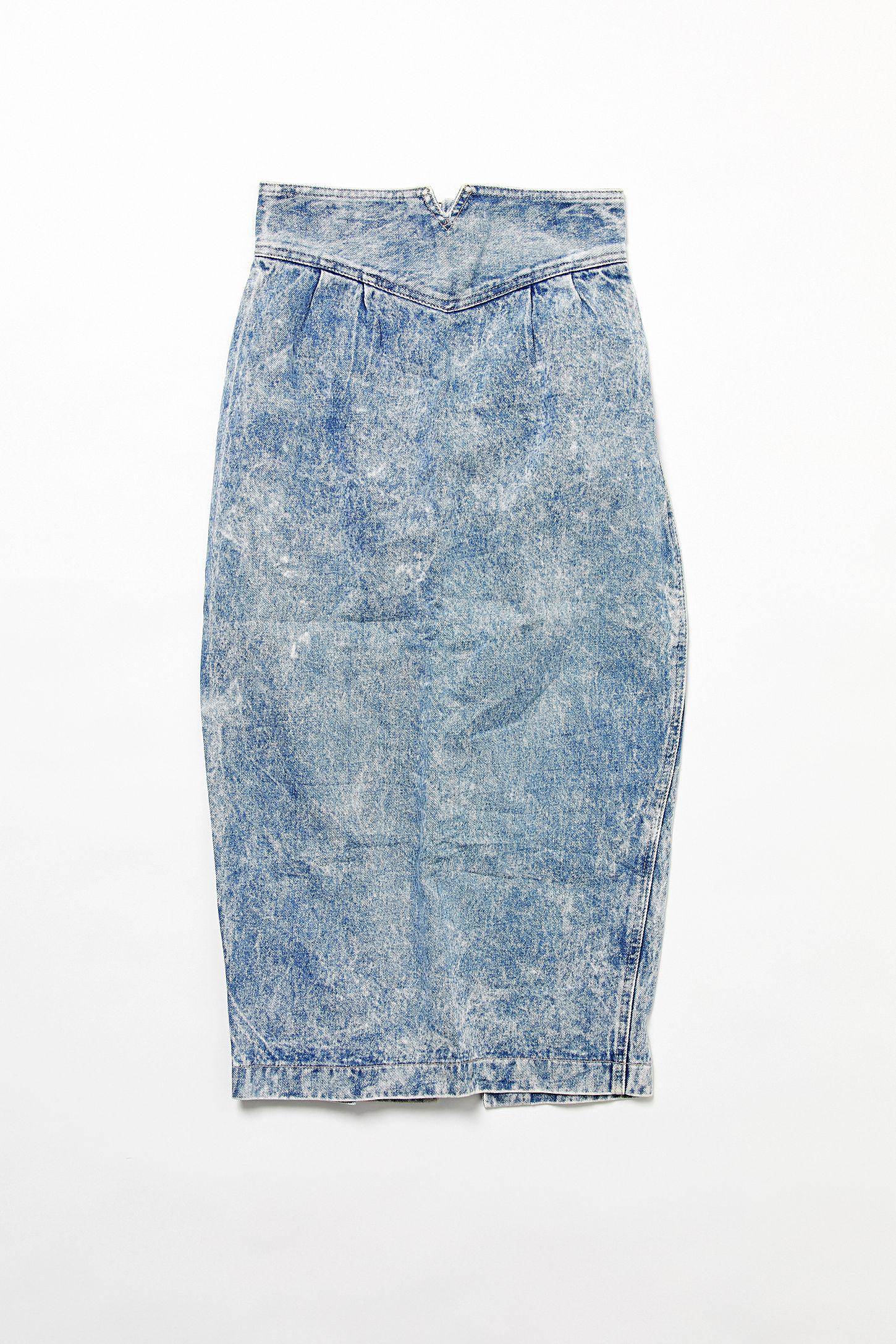 b8d27a706 Urban Outfitters Denim Pencil Skirt | Huston Fislar Photography