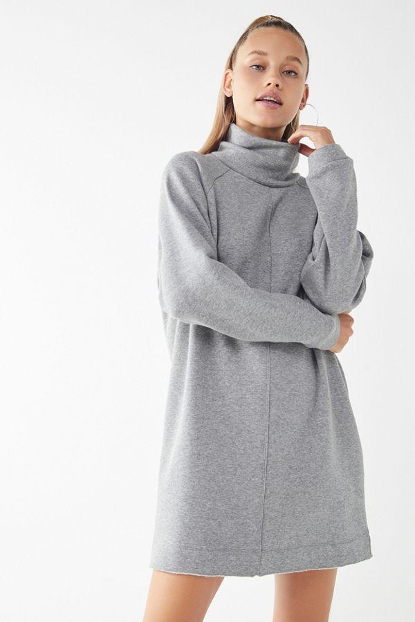 14ea27e157b UO Bunny Turtleneck Sweatshirt Dress