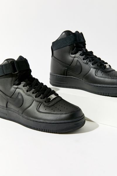 nike air force 1 high top black and white