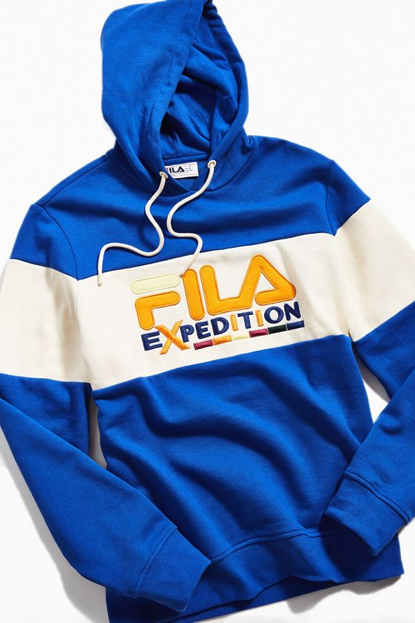 00aa055f86ce3 FILA Expedition Colorblock Hoodie Sweatshirt | Urban Outfitters