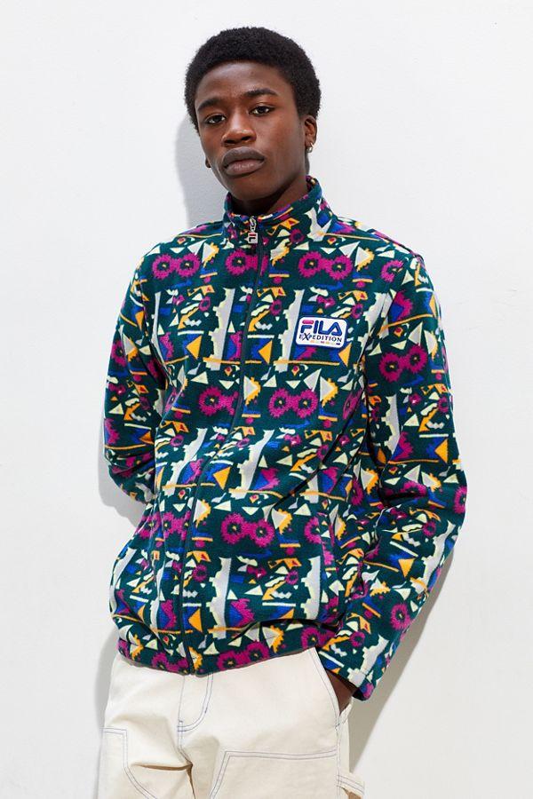 e760ac62e8fa3 FILA Daymond Polar Fleece Jacket | Urban Outfitters