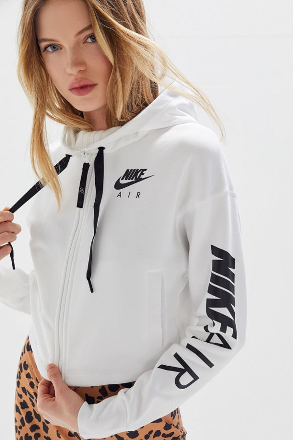 dbad353c237cd3 Slide View  1  Nike Air Zip-Up Cropped Hoodie Sweatshirt