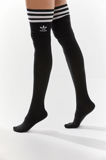 sneakers for cheap 8d0bd 981fb adidas Originals Roller Thigh High Sock   Urban Outfitters